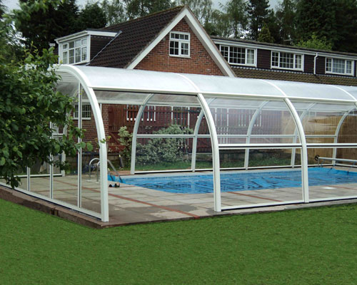 Swimming pool enclosures swimming pools for Swimming pool enclosures cost
